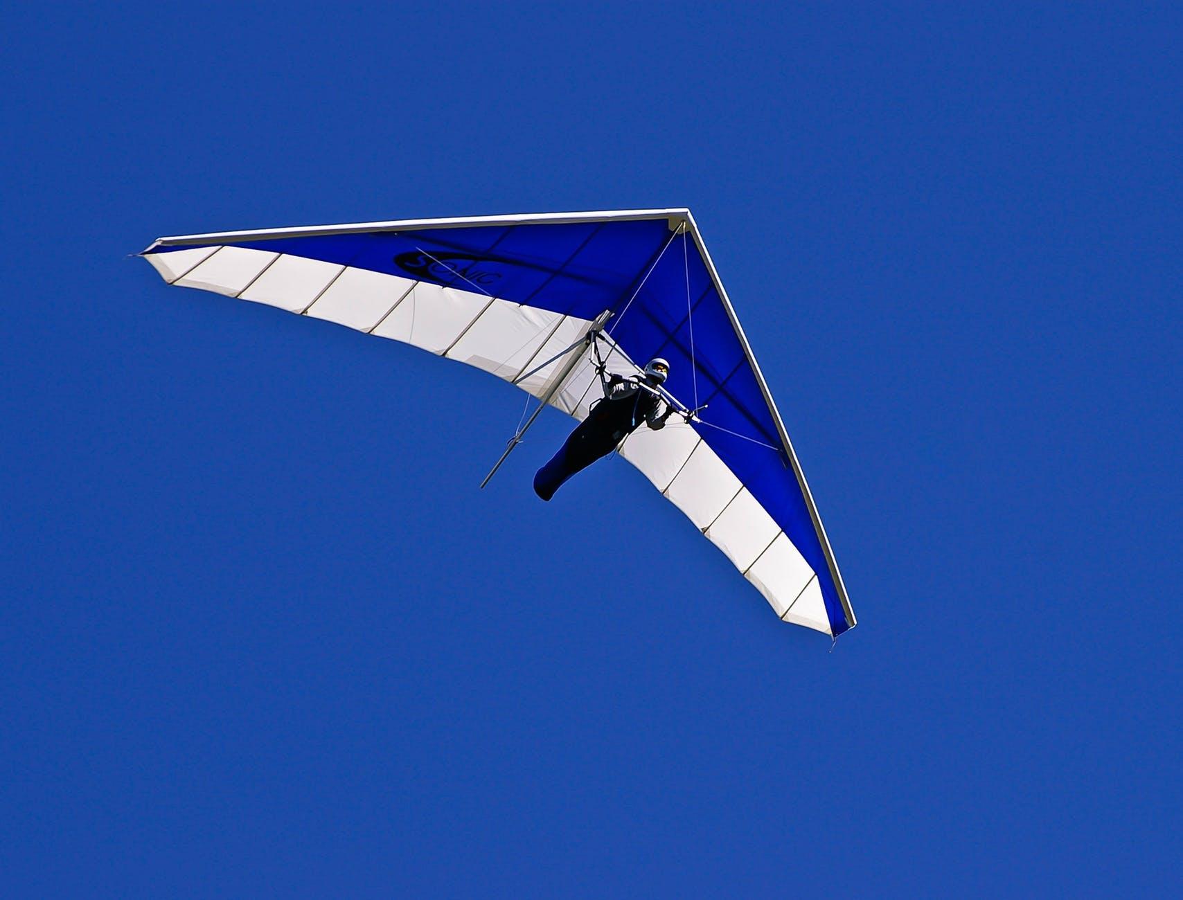 sky flying blue sport