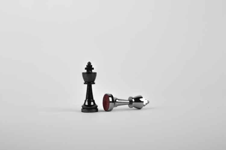 battle black board game chess